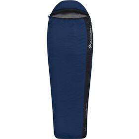 Sea to Summit Trailhead TH II Sac de couchage Regular Wide Left Zip, cobalt/midnight